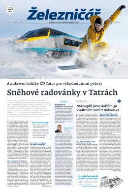 Sněhové radovánky v Tatrách
