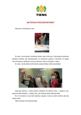 Chitosan, Spirulina, Výživný vápníkový prášek