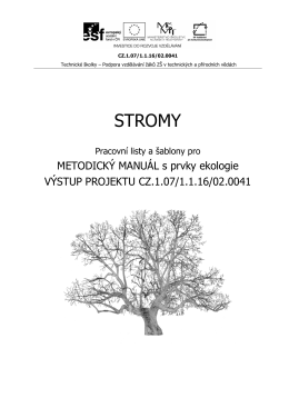 Stromy - PL - Technické školky