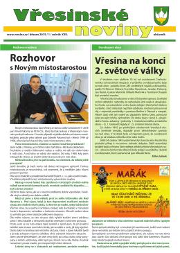 Vřesinské noviny - Informační centrum Hlučín