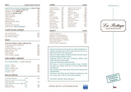 New Gastro Cz2 - La Bottega Gastronomica