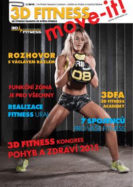 3D FITNESS POHYB A ZDRAVÍ 2015