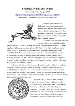 Sokolnictví vikinského období