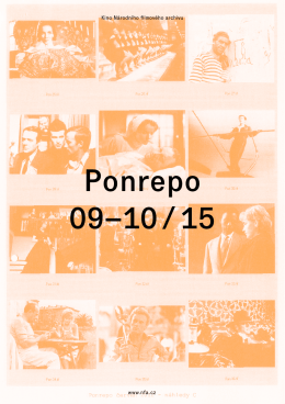 Ponrepo brožura září a říjen 2015