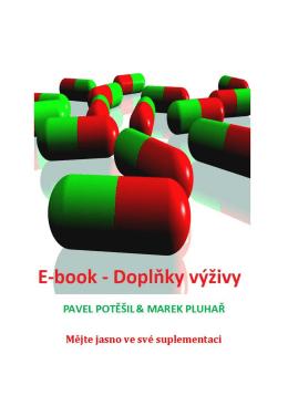 E-book – Doplňky výživy