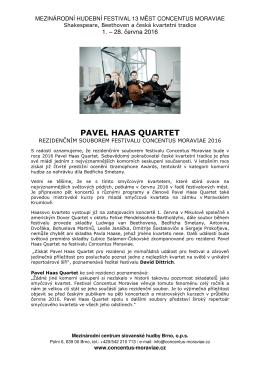 pavel haas quartet / cm16