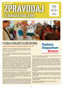 Zpravodaj 2015/2 - Základní škola Horácké nám.