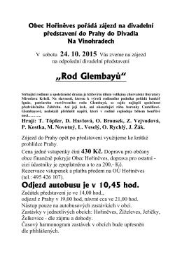 """""""Rod Glembayů"""""""