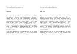 Všeobecné pravopisné cvičení Šepot ve tmě