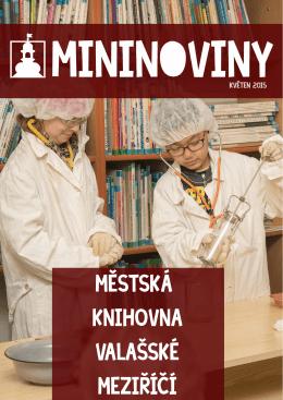 Mininoviny 5/2015 - Městská knihovna Valašské Meziříčí