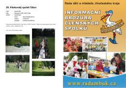 Brožura členských spolků RADAMBUK únor 2015