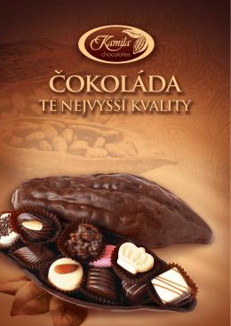 různé variace - Chocolates Kamila