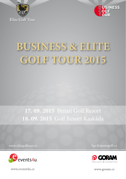 BUSINESS & ELITE GOLF TOUR 2015
