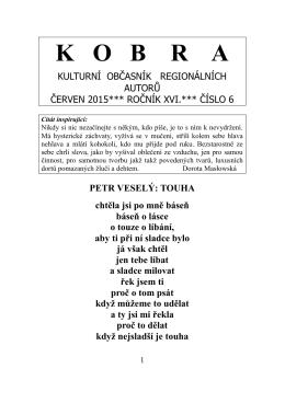 Kobra číslo 06/2015 - iKobra.cz