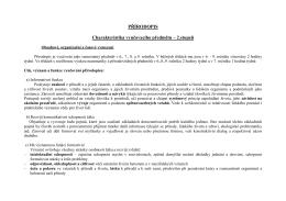 PŘÍRODOPIS Charakteristika vyučovacího předmětu – 2.stupeň