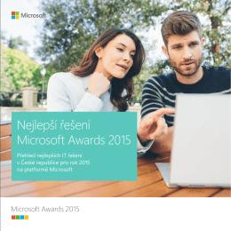 Nejlepší řešení Microsoft Awards 2015