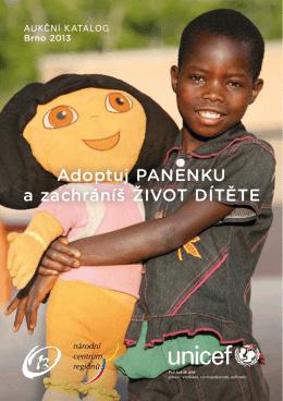 Adoptuj PANENKU a zachráníš ŽIVOT DÍTĚTE