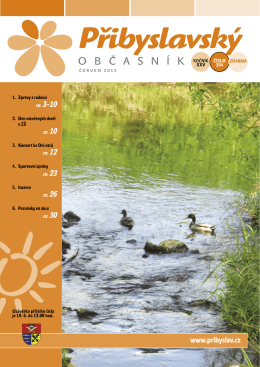 Přibyslavský občasník červen 2015