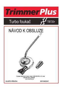 TB720r návod k obsluze.rtf