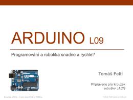 Robotika - JAOS-Arduino L09