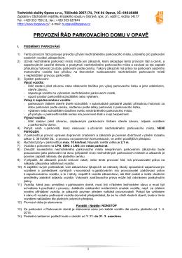 2015-04-01 - Provozní řád PD
