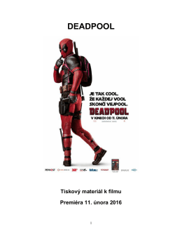 DEADPOOL - Cinemart.sk