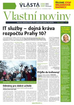 IT služby – dojná kráva rozpočtu Prahy 10?