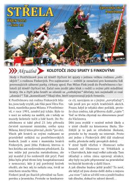 STŘELA - časopis Střela Postřelmov