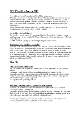 červen 2015 - Základní škola Opava, Mařádkova 15