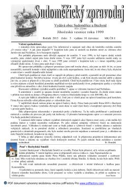 str 1 informace - Sudoměřice u Bechyně