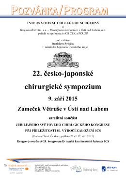 Program sympozia