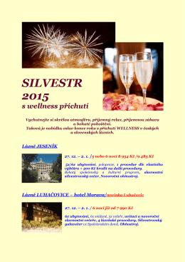 SILVESTR 2015 ve slovenských lázních
