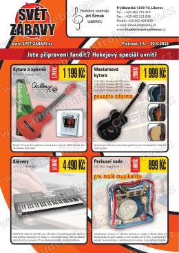 Svět zábavy - Hudební nástroje