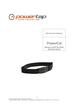 PowerCal_ návod CZ