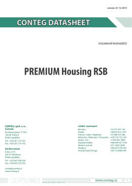 2.5 PREMIUM Housing RSB