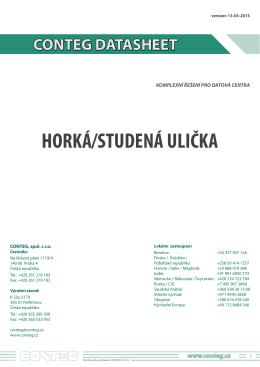 HORKÁ/STUDENÁ ULIČKA