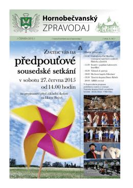 ZPRAVODAJ - Horní Bečva