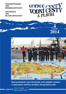 4. 2014 - Vodní koridor Dunaj - Odra