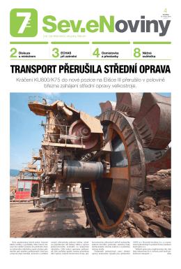 transport přerušila střední oprava