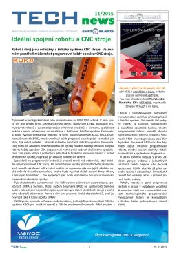 Ideální spojení robotu a CNC stroje
