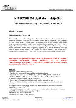 Datasheet - Topbattery.cz