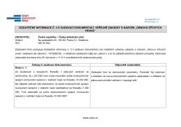 Dodatečné informace č. 3 - Obnova síťových prvků_1 - E