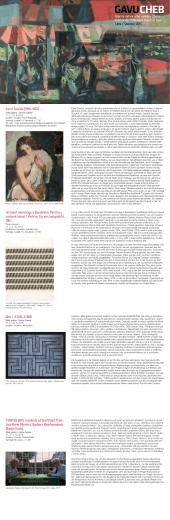 Program léto 2015 CZ / D - Galerie výtvarného umění v Chebu