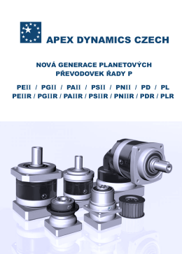 řada PEIIR - APEX DYNAMICS CZECH s.r.o.