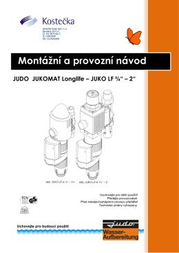 JUKO-LF 3 / 4 - Vodní filtry JUDO