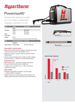 Powermax45® - VAW WELDING, sro