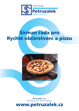 Sirman rychlé občerstvení a pizza