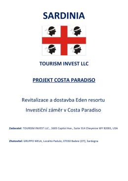 PDF obchodní plán TourismInvest LLC