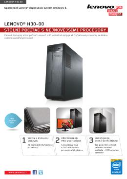 LENOVO® H30-00 - LenovoOnline.sk