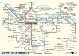 Liniennetzplan Heidelberg